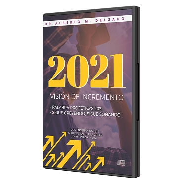 2021 Año de Incremento (2 CD)